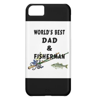 Fishing Father Best Dad Case For iPhone 5C