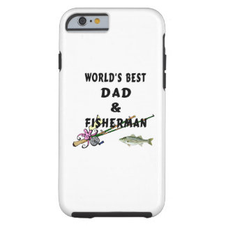 Fishing Father Best Dad Tough iPhone 6 Case