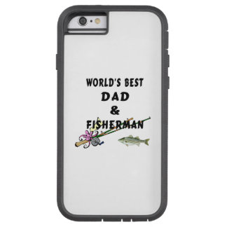 Fishing Father Best Dad Tough Xtreme iPhone 6 Case