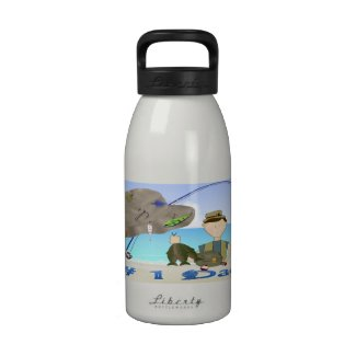 Fishing Father's Day Water Bottle