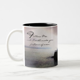 Fishing / Fisherman Inspirational Collection Two-Tone Coffee Mug