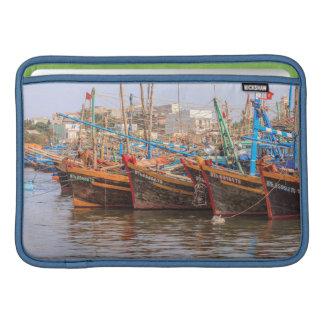 Fishing fleet MacBook air sleeves