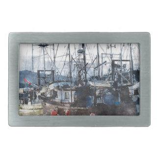 Fishing Fleet & Marina Fishermans Gift Belt Buckle