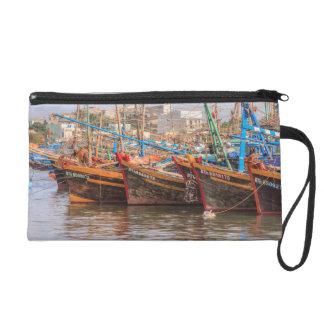 Fishing fleet wristlet purse