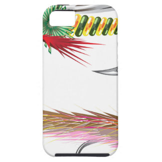 Fishing Flies lures Bug and Minnow iPhone SE/5/5s Case