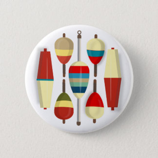 Fishing Floats / Bobbers Button