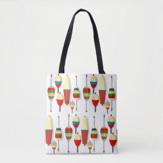 Fishing Floats / Bobbers Tote Bag