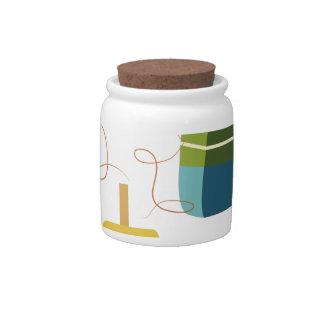 Fishing Floats Candy Jar