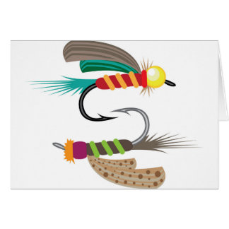 Fishing Fly Card