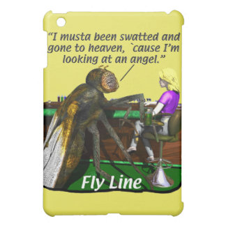 Fishing - Fly Fishing - Fly line iPad Mini Cases