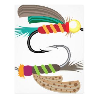 Fishing Fly Letterhead