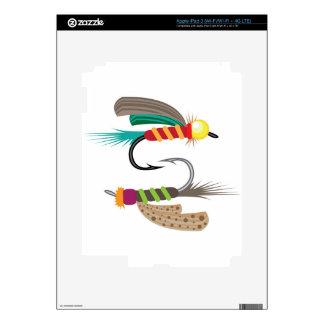 Fishing Fly Skins For iPad 3