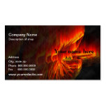 Fishing Fly Template Business Card