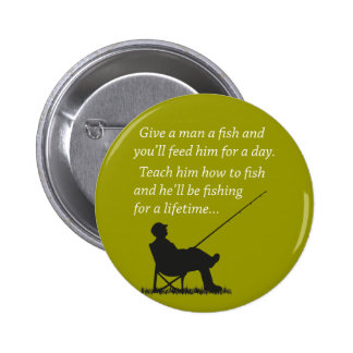 Fishing for a Lifetime Button