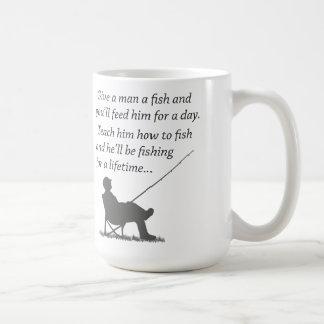 Fishing for a Lifetime Coffee Mug