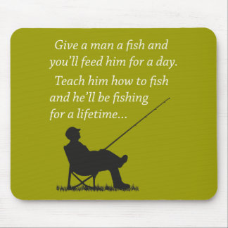 Fishing for a Lifetime Mousemat