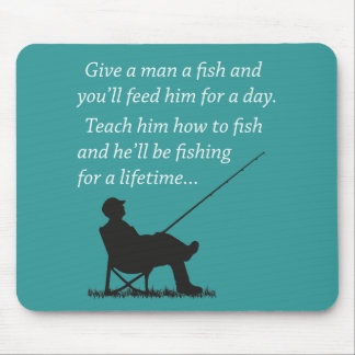 Fishing for a Lifetime Mouse Pads