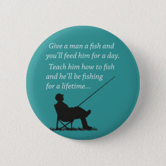 Fishing for a Lifetime Pinback Button