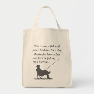 Fishing for a Lifetime Tote Bag