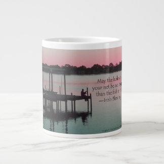 Fishing for Blessings Large Coffee Mug