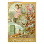 Fishing for Chocolate Greeting Cards