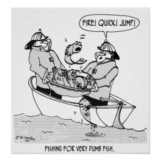 Fishing For Dumb Fish Poster