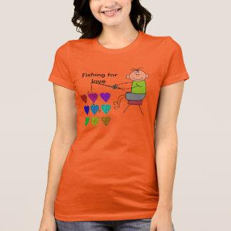 Fishing for love T-Shirt