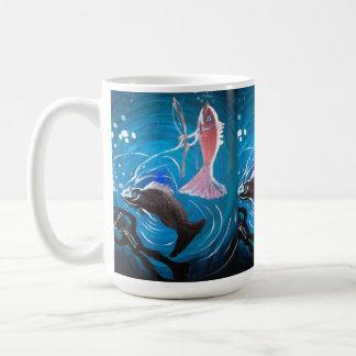 Fishing for revenge mug