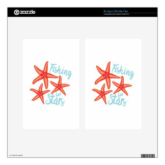 Fishing For Stars Skins For Kindle Fire