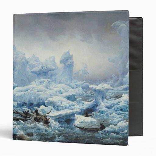 Fishing for Walrus in the Arctic Ocean, 1841 Vinyl Binders