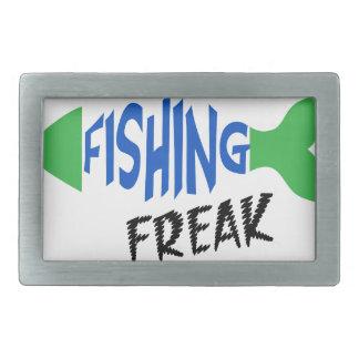 Fishing Freak Belt Buckle