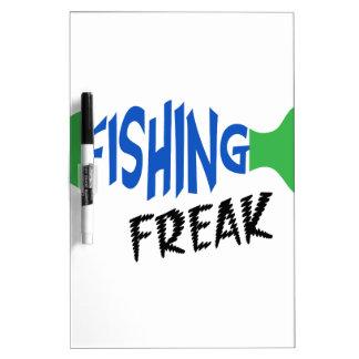 Fishing Freak Dry-Erase Board