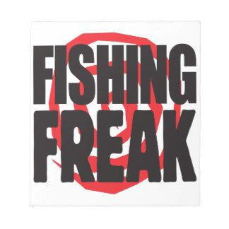 Fishing Freak Notepad