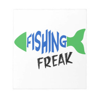 Fishing Freak Notepad
