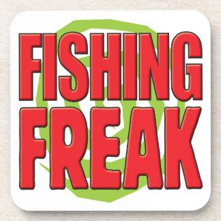 Fishing Freak R Drink Coaster