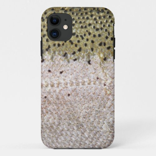 Fishing Fury iPhone4 Case (Steelhead) Phone Case