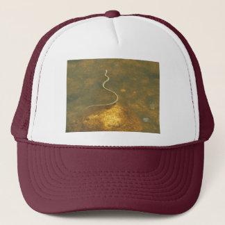 Fishing Garter Snake Trucker Hat