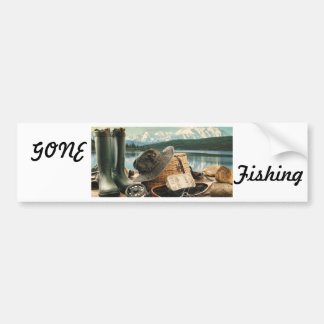 Fishing Gear Bumper Sticker