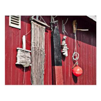 Fishing Gear Equipment Postcard