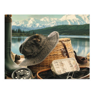 Fishing Gear Postcard