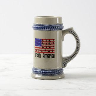Fishing Gift iFish America Coffee Mugs