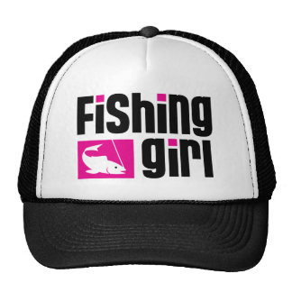 Fishing Girl Trucker Hat