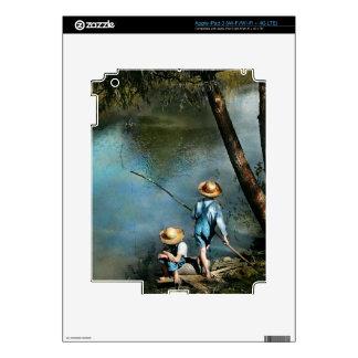 Fishing - Gone Fishin' - 1940 iPad 3 Skin