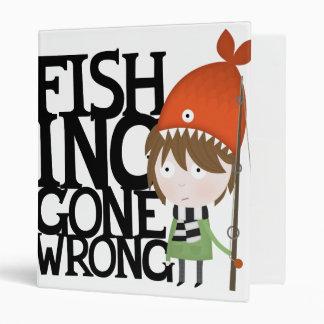 Fishing gone wrong vinyl binders