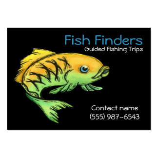 Fishing Guide and Tour Service Business Cards