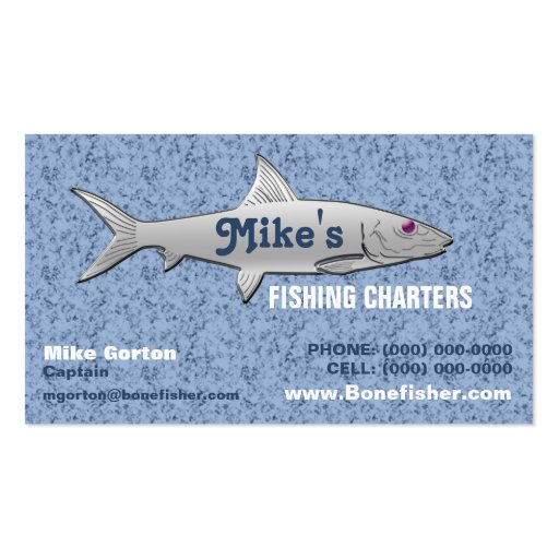 Fishing guide business card zazzle for Fishing business cards