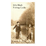 Fishing Guide Double-Sided Standard Business Cards (Pack Of 100)