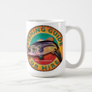 Fishing guide sign coffee mug