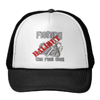 Fishing Halibut The Reel Deal Fishing Trucker Hat