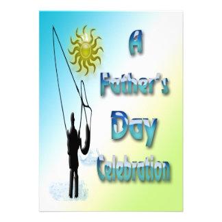 Fishing - Happy Father s Day Invitation